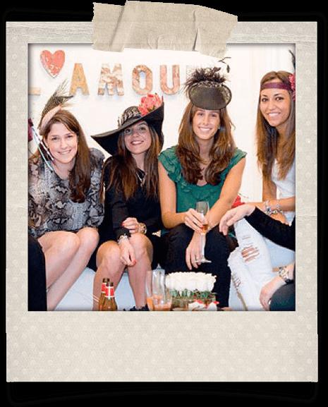 Chicas en una Beauty PArty